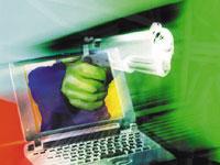 Cybercriminaliteit / laptop