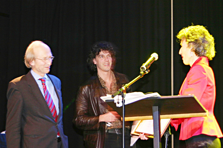 Big Brother Awards 2005 - uitreiking Winston Award