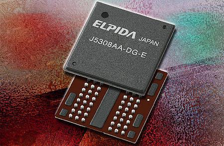 Elpida DDR3 geheugenchips