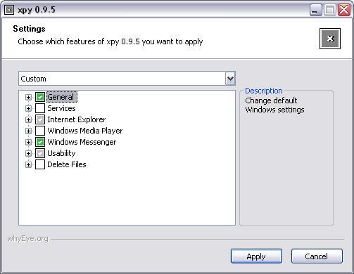 xpy 0.9.5 screenshot