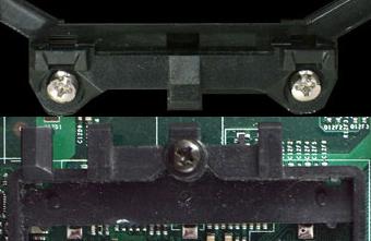 Socket 754/939/940 en Socket AM2 vergeleken: mounting clip