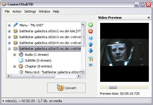 ConvertXtoDVD 2.0.1.101 screenshot