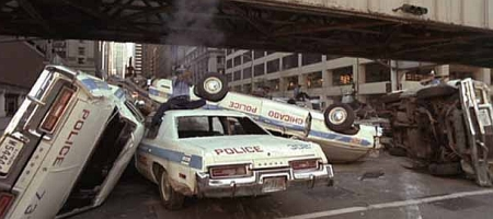 Blues Brothers politiewagens