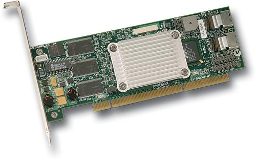 LSI Logic MegaRAID SATA 300-8XLP (low-profile) perspic