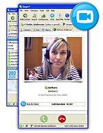 Skype met videofunctionaliteit (nog kleiner)