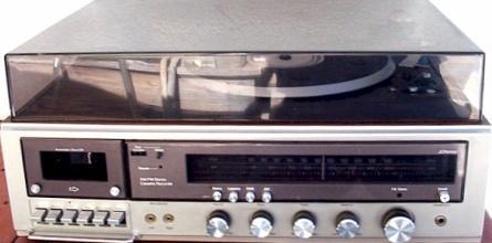 Oldskool muziekkopieerapparaat
