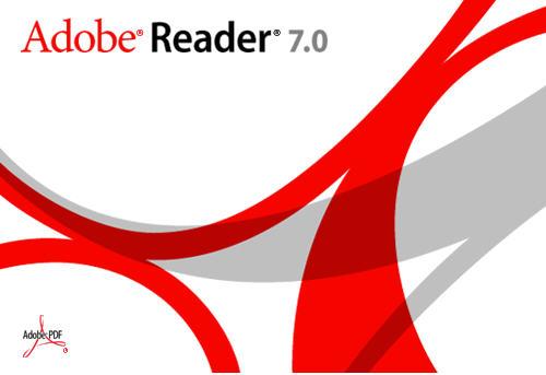 Adobe Reader 7 plaatje