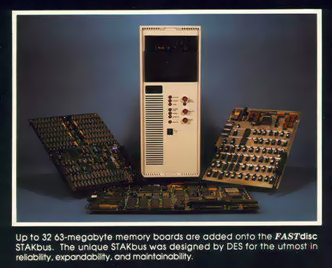 DES Fastdisc-systeem met SASI-interface