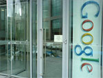 Ingang Google-vestiging in Dublin
