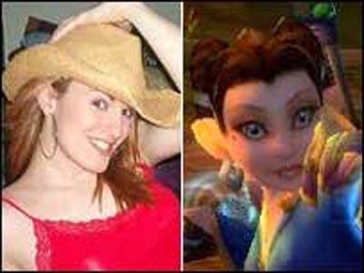 Sara Andrews en haar WoW-karakter