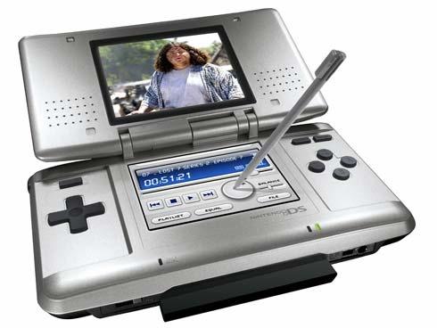Nintendo DS met Max Media Player
