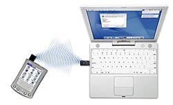 Mac OS X Bluetooth met Palm