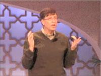 Bill Gates met authentificatiesleutel tijdens de RSA 2006-conferentie