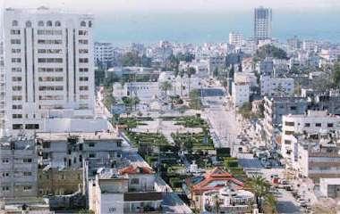Binnenstad van Gaza-stad
