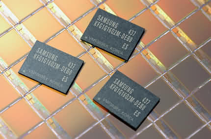 Samsung OneNAND-geheugenmodules