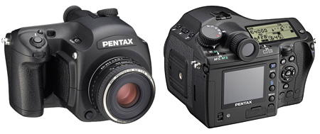 Pentax 645 Digital middenformaat camera