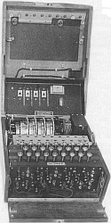 Vierrotorige Enigma-codeermachine