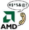 AMD's boze telefoontje