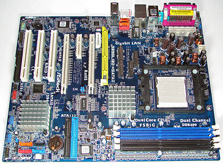 ASRock 939SLI32-eSATA2 moederbord