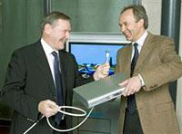 Philips en UPC in HDTV