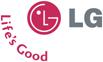 LG-logo met 'Life's Good'-slogan