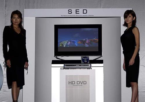 Presentatie SED-scherm