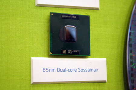 Intel 65nm Xeon LV Sossaman