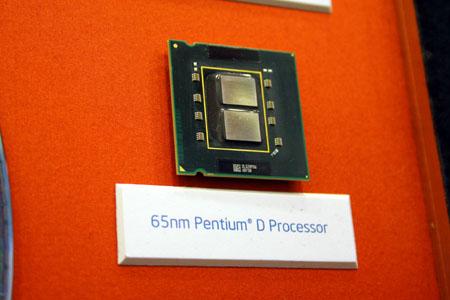 65nm Pentium D Presler met 4MB L2