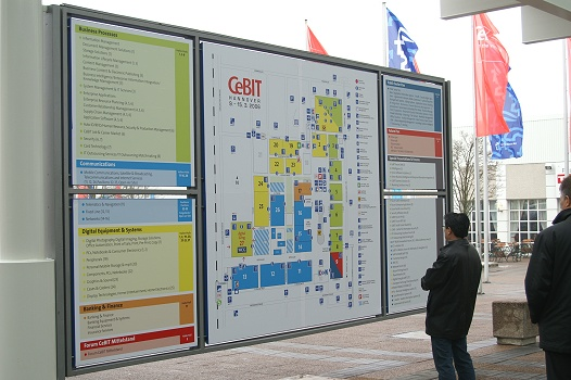CeBIT 2006 - Plattegrond