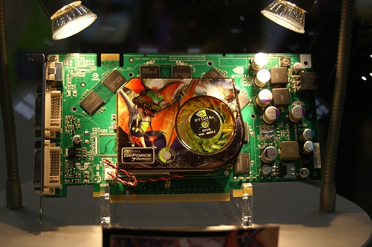 CeBIT 2006 - Point Of View GeForce 7900