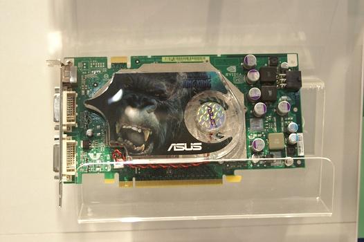 CeBIT 2006 - Asus GeForce 7600
