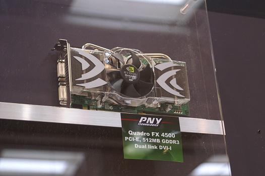 CeBIT 2006 - PNY Quadro FX 4500
