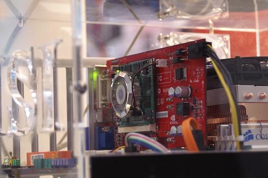 CeBIT 2006 - Upgradebare videokaart van MSI