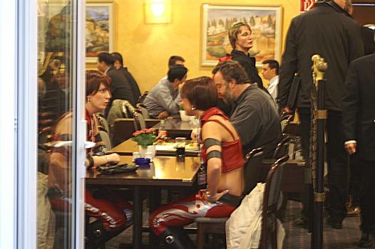 CeBit 2006 - Ruby's dinner