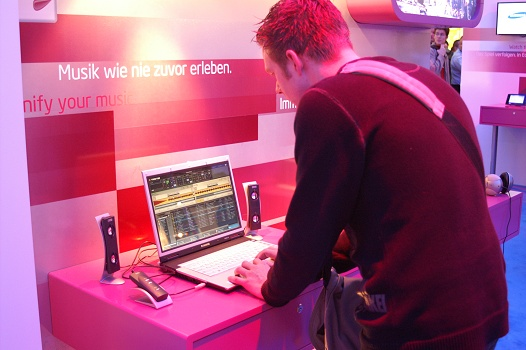CeBit 2006 - DJ Ré.Daxy