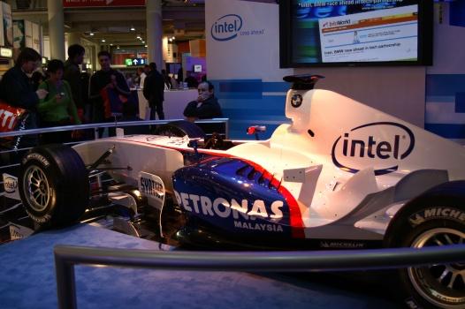 CeBit 2006 - Formule 1-raceauto