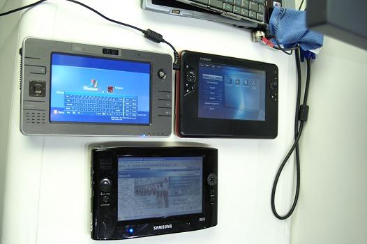 CeBit 2006 - Founder, Asus en Samsung UMPC's