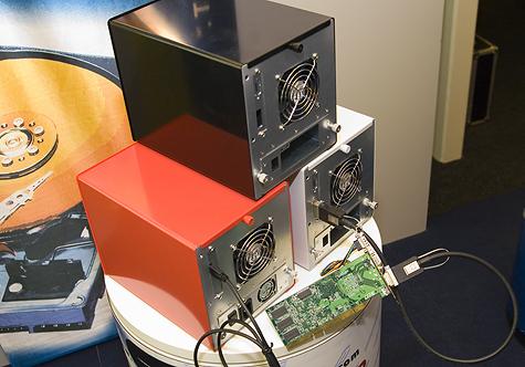 CeBIT 2006: CI Design koektrommel