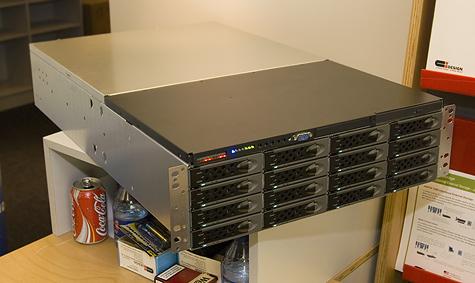 CeBIT 2006: CI Design rackmount