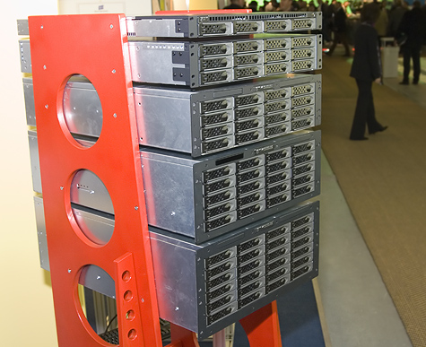 CeBIT 2006: CI Design rackmounts