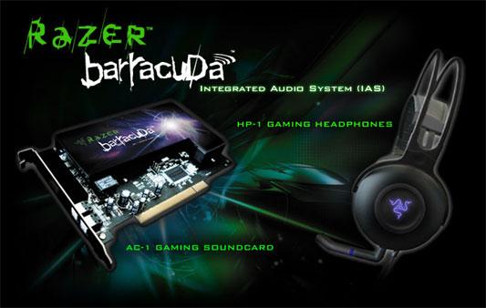 Razer Barracuda Integrated Audio System - AC-1 en HP-1