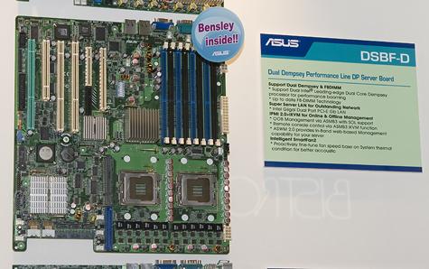 CeBIT 2006: Asus DSBF-D