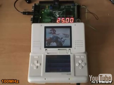 Nintendo DS-overklok (100MHz)