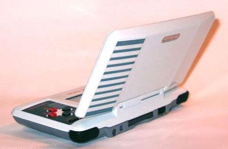 Nintendo DS-casemod NS (buitenkant)