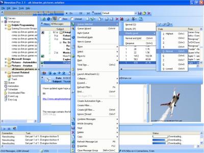 NewsMan Pro 2.1 screenshot (mini)