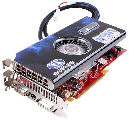 Watergekoelde Sapphire Radeon X1900 XTX