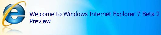 Internet Explorer 7 beta 2 build 5335.5 - installatiescherm