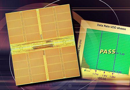 Elpida 512Mbit 4GHz XDR-geheugenchip