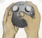 Nieuwe Sony-controller: artist impression