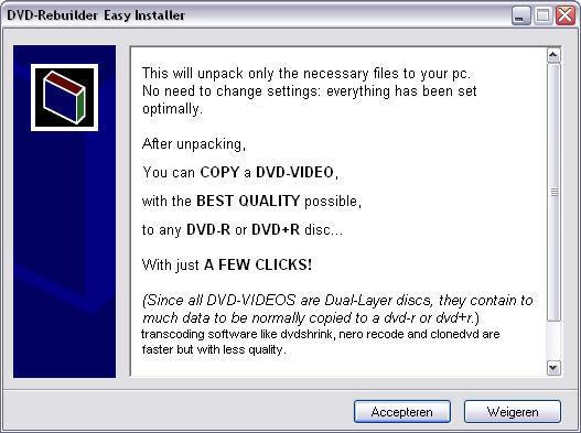 DVD-ReBuilder Easy Installer